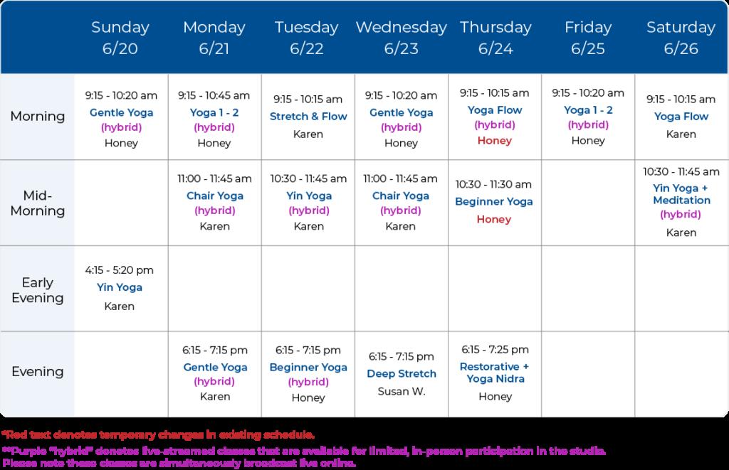 Yoga Balance Schedule 06-20-21